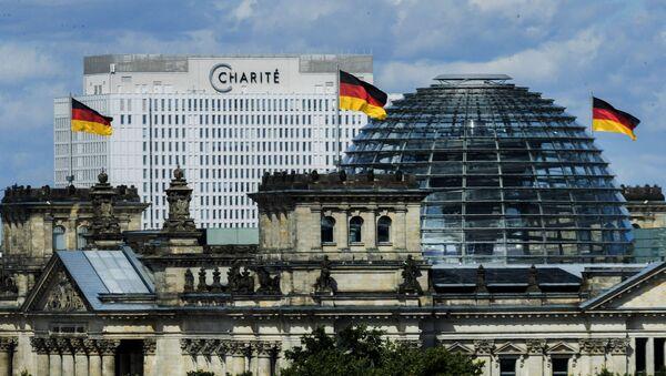 Klinika Charite w Berlinie - Sputnik Polska