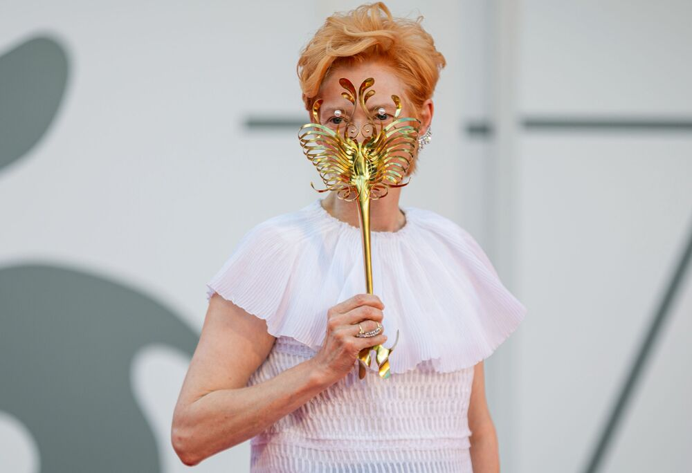 Brytyjska aktorka Tilda Swinton