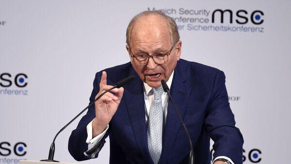 Szef Monachijskiej Konferencji Bezpieczeństwa Wolfgang Ischinger - Sputnik Polska