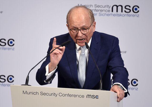 Szef Monachijskiej Konferencji Bezpieczeństwa Wolfgang Ischinger