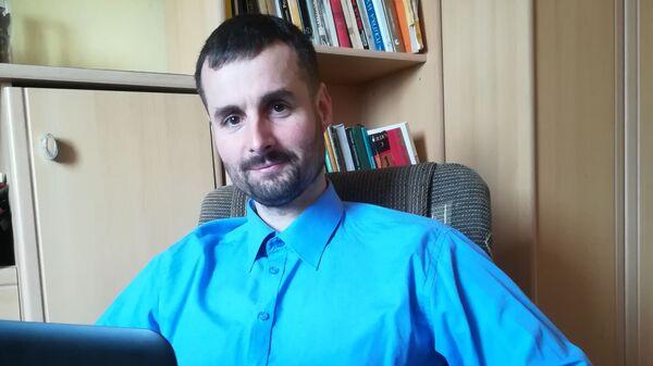 Michał Nowicki, polski działacz lewicowy  - Sputnik Polska