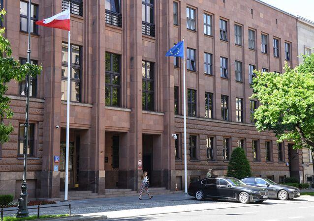 Budynek MSZ Polski w Warszawie