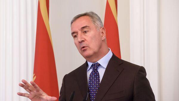 Prezydent Czarnogóry Milo Dukanović - Sputnik Polska