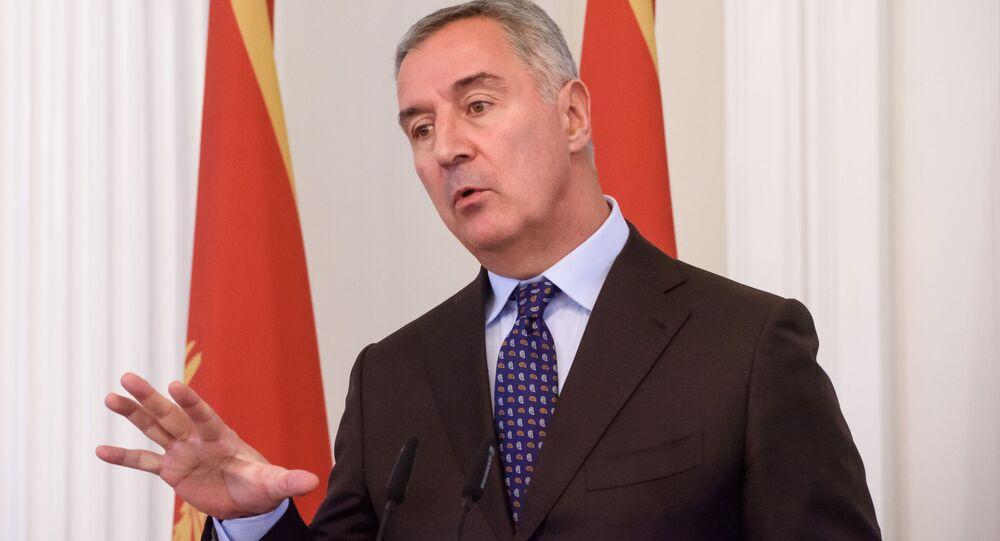 Prezydent Czarnogóry Milo Dukanović