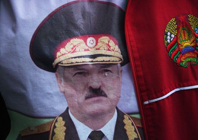 Wiec poparcia dla Alaksandra Łukaszenki