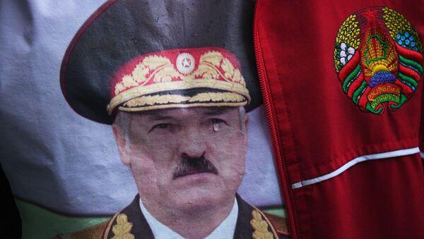 Wiec poparcia dla Alaksandra Łukaszenki - Sputnik Polska