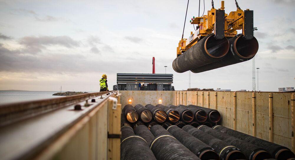Budowa gazociągu Nord Stream 2
