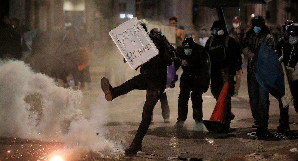 Protesty w stanie Nowy Jork