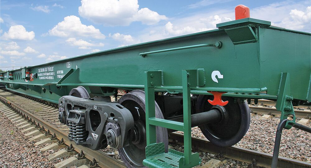 Wagon platforma