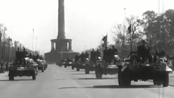 Berlińska parada zwycięzców - Sputnik Polska