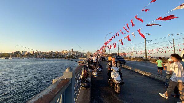 Most Galata w Stambule - Sputnik Polska