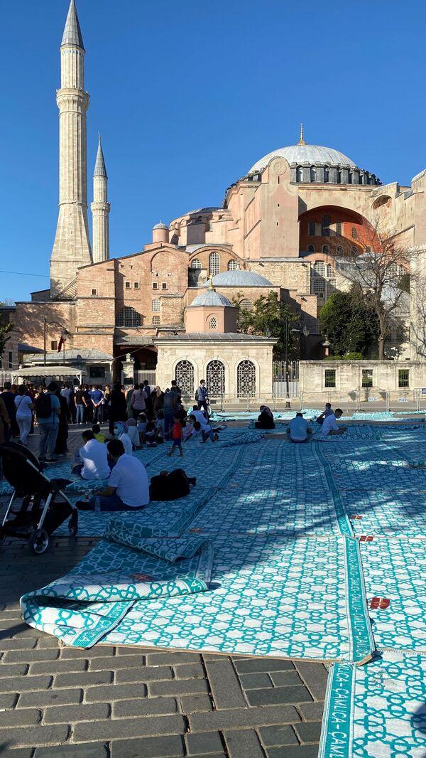 Meczet Hagia Sophia w Stambule - Sputnik Polska