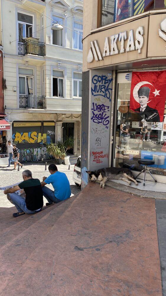 Ulica w Stambule