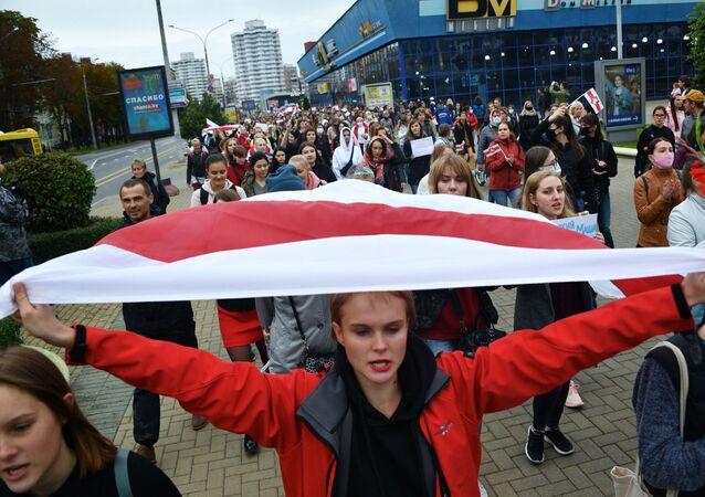 Akcja opozycji w Mińsku