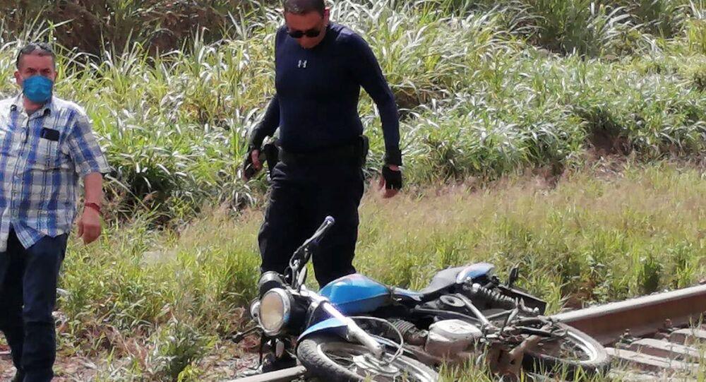 Miejsce zabójstwa dziennikarza Julio Valdivia Rodrigeza.