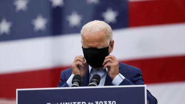 Kandydat na prezydenta z Partii Demokratycznej Joe Biden - Sputnik Polska