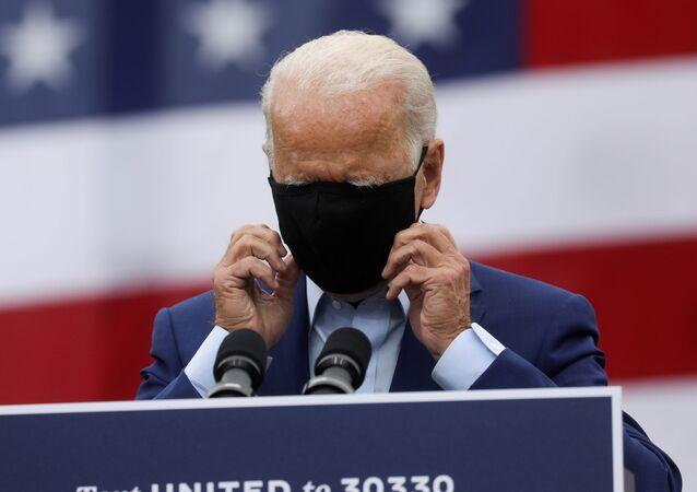 Kandydat na prezydenta z Partii Demokratycznej Joe Biden