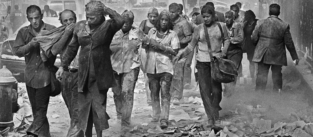Osoby, które przeżyły ataki terrorystyczne na World Trade Center w Nowym Jorku, 11 września 2001 roku