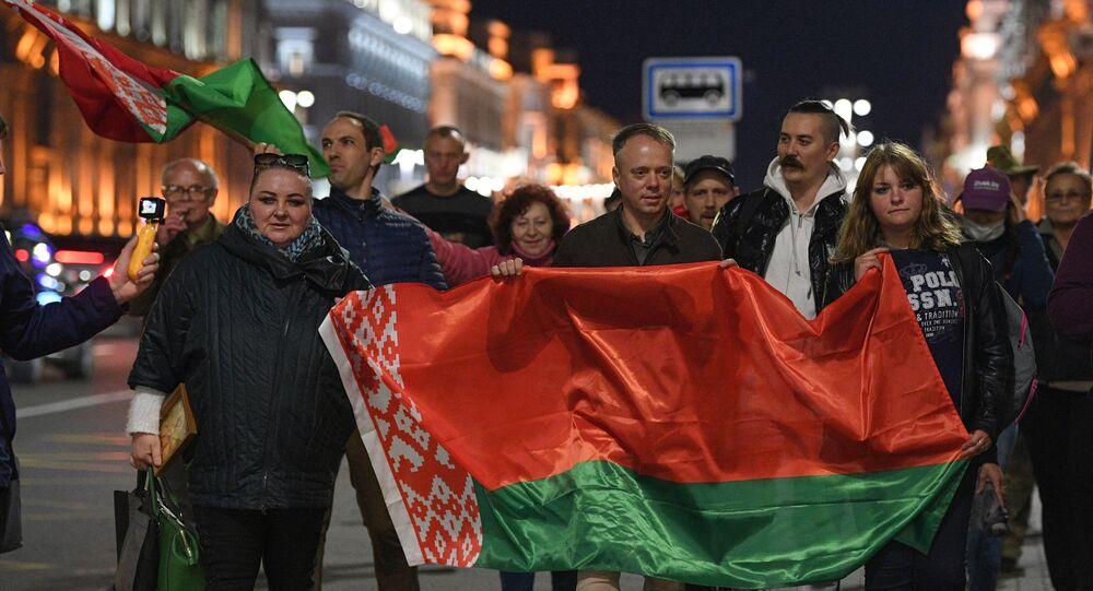 Zwolennicy Łukaszenki