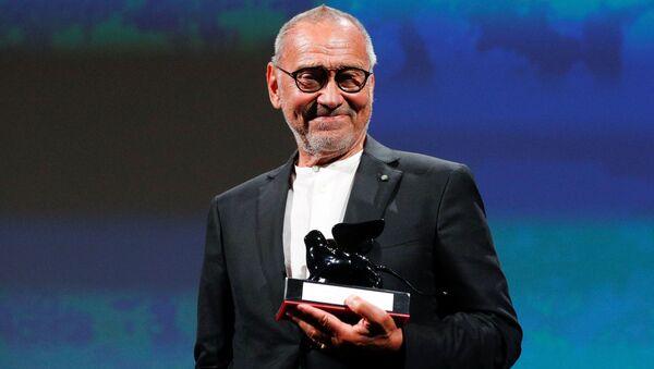 Andrej Konczałowski podczas wręczenia nagrody na 77 Międzynarodowym Festiwalu Filmowym w Wenecji - Sputnik Polska