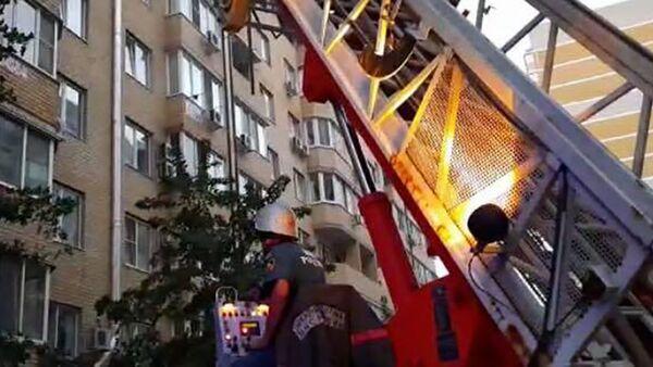 Pożar w Krasnodarze - Sputnik Polska