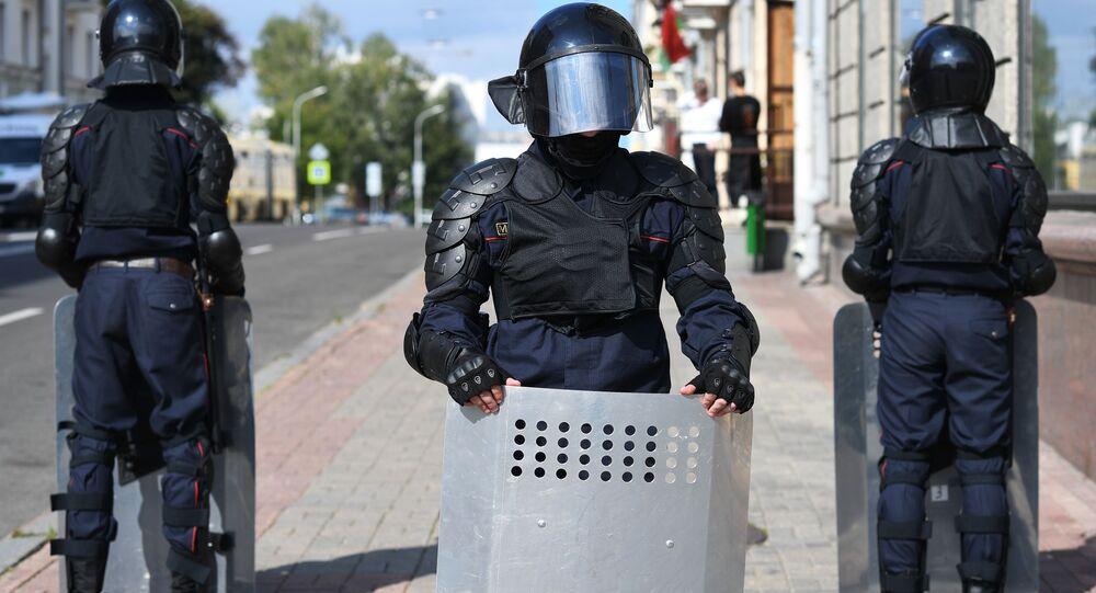 Protesty w Mińsku
