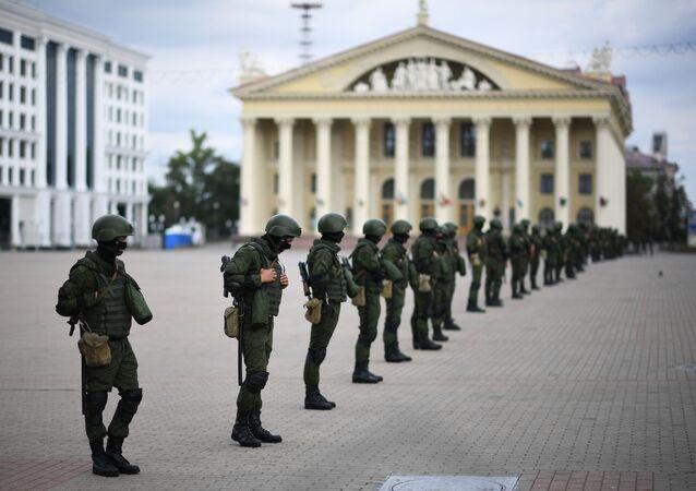Siły bezpieczeństwa Białorusi