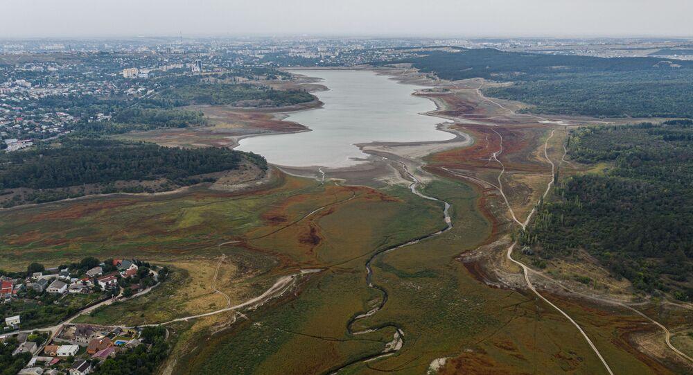Widok na zbiornik Simferopol