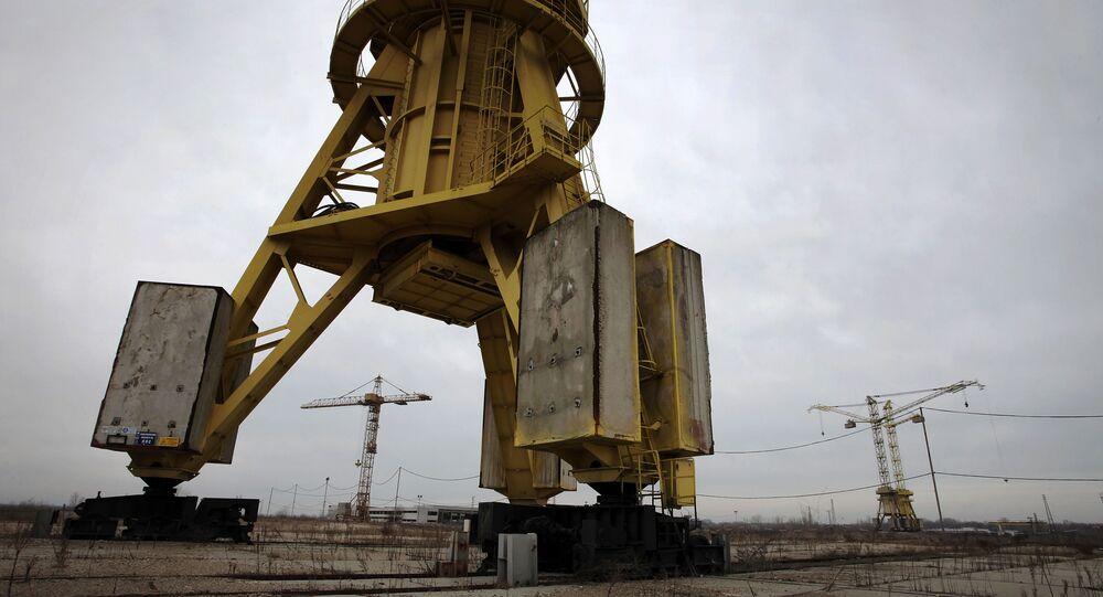 """Porzucona elektrownia atomowa """"Belene"""" w Bułgarii"""