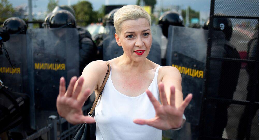 Białoruska opozycjonistka Maria Kolesnikowa