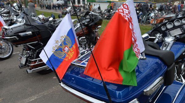 Na otwarciu sezonu motocyklowego 2017 H.O.G. Spring Challenge w Mińsku - Sputnik Polska