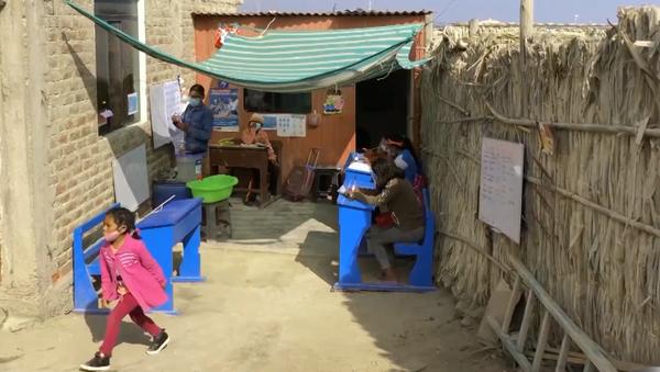 14-latek otwiera domową szkołę w Peru - Sputnik Polska
