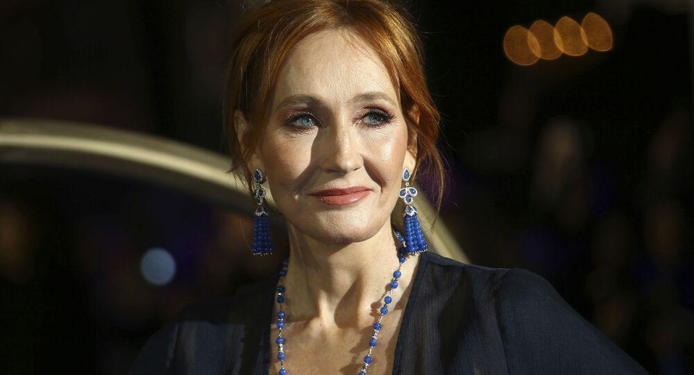 Brytyjska pisarka J. K. Rowling.