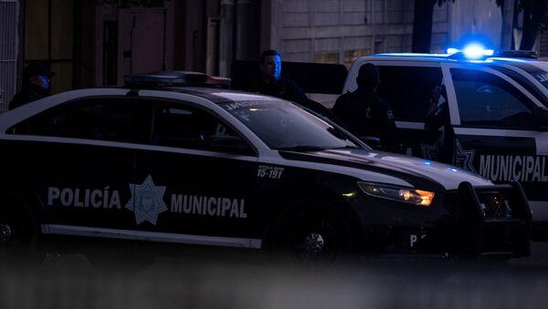 Policja w mieście Tijuana w Meksyku. - Sputnik Polska