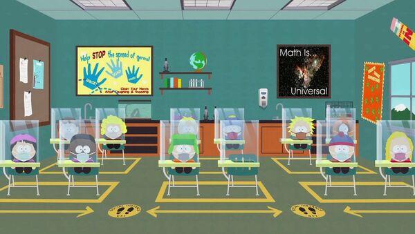 """Serial animowany """"South Park"""". - Sputnik Polska"""