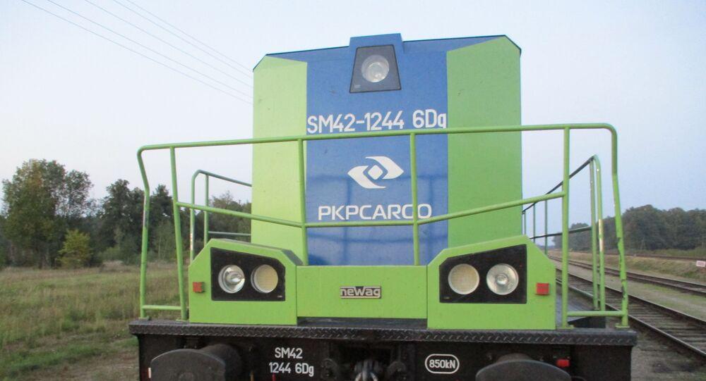 Rosyjscy celnicy znaleźli paczki papierosów w lokomotywie