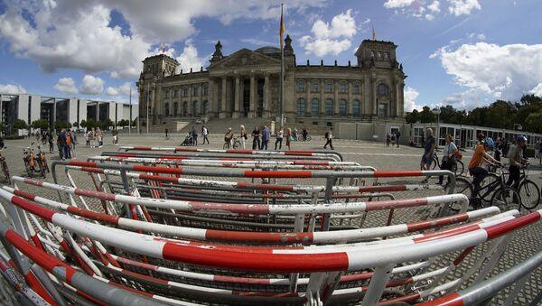 Gmach parlamentu Rzeszy w Berlinie. - Sputnik Polska
