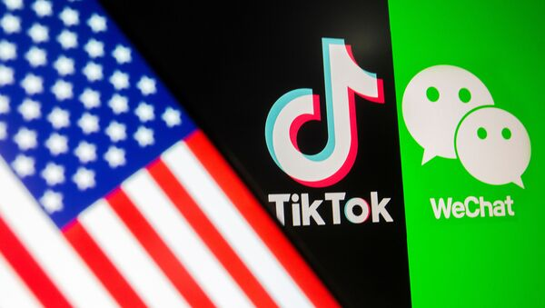 TikTok i WeChat  - Sputnik Polska