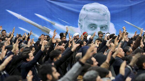 Antyamerykańska demonstracja w Teheranie. - Sputnik Polska