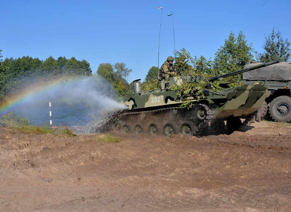 """Wspólne rosyjsko-białoruskie ćwiczenia wojskowe """"Słowiańskie Braterstwo–2020"""""""