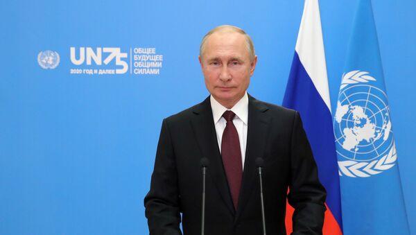 Oświadczenia Władimira Putina podczas 75. sesji Zgromadzenia Ogólnego ONZ - Sputnik Polska