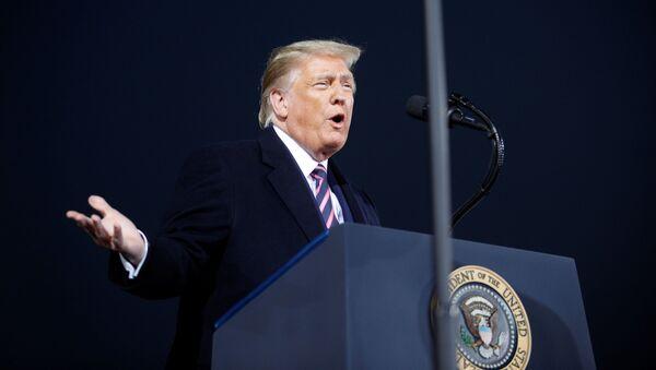 Przemówienie Donalda Trumpa - Sputnik Polska