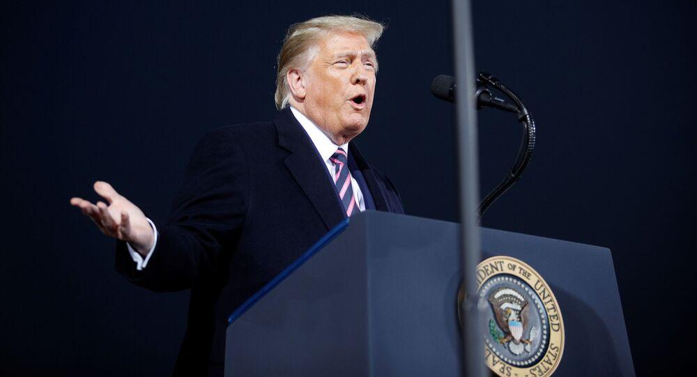 Przemówienie Donalda Trumpa