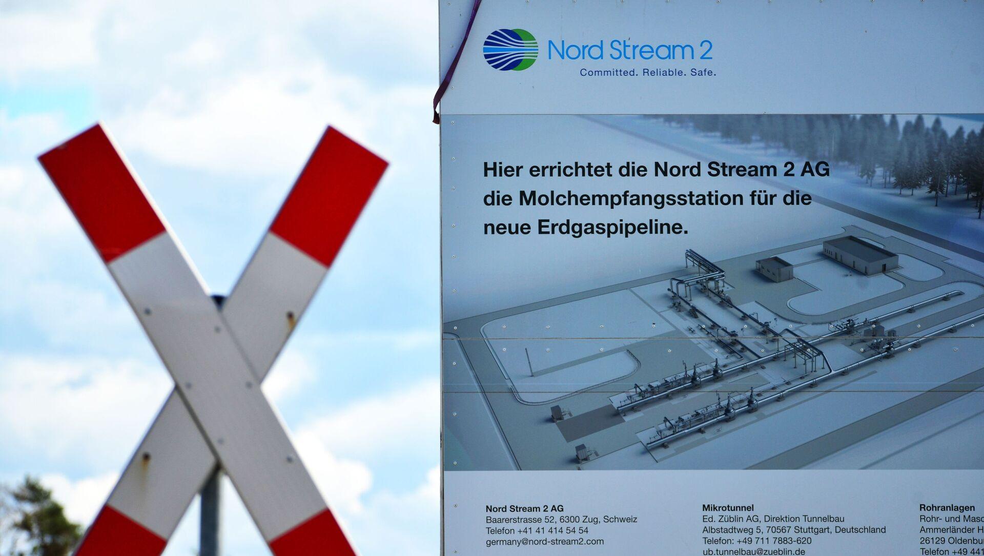 Budowa gazociągu Nord Stream 2 w Niemczech - Sputnik Polska, 1920, 17.02.2021