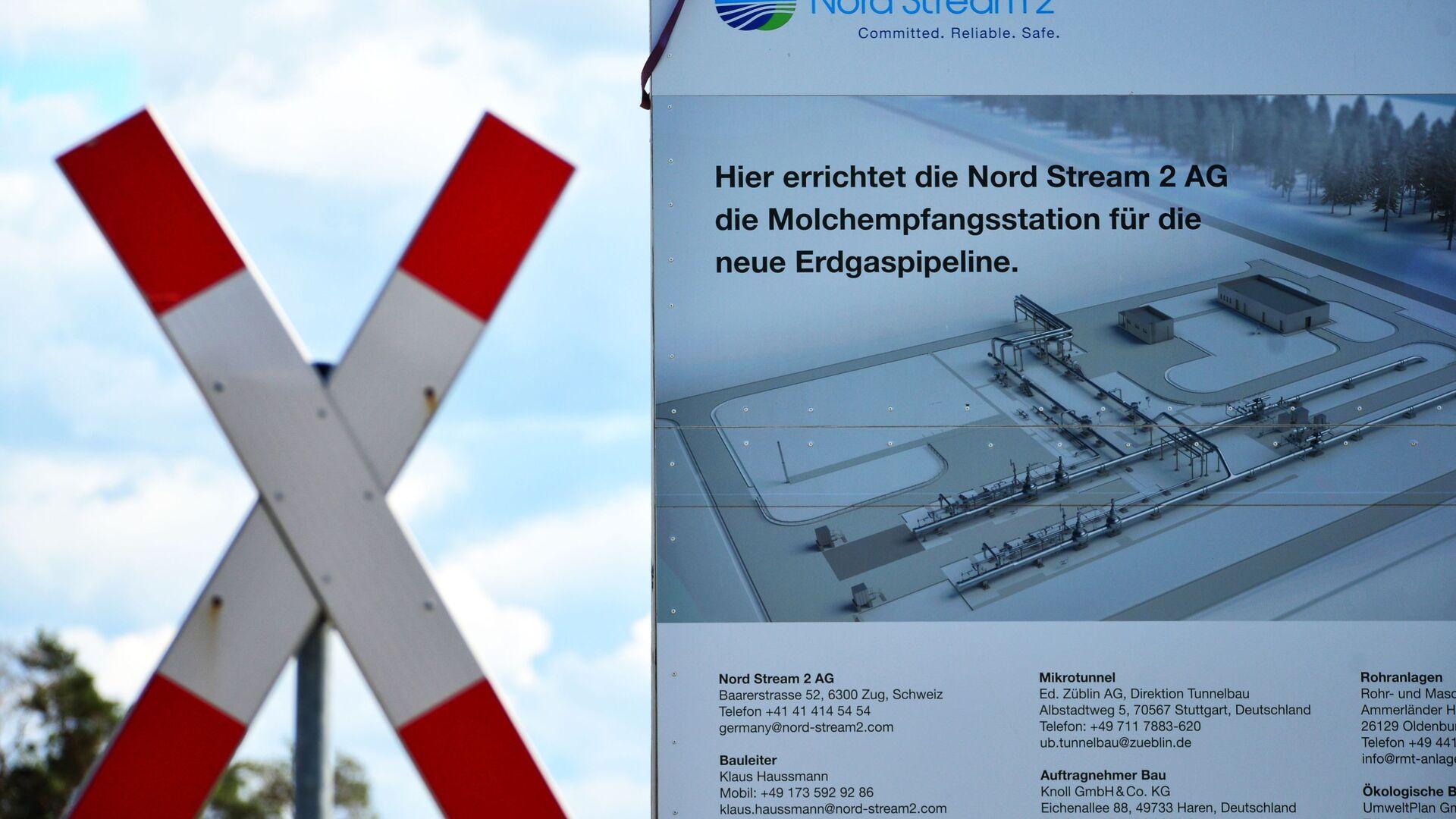 Budowa gazociągu Nord Stream 2 w Niemczech - Sputnik Polska, 1920, 24.02.2021