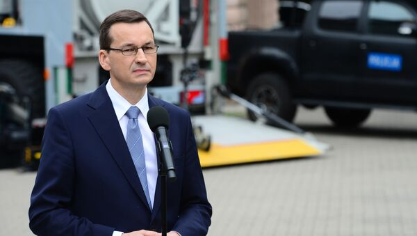 Premier Mateusz Morawiecki - Sputnik Polska