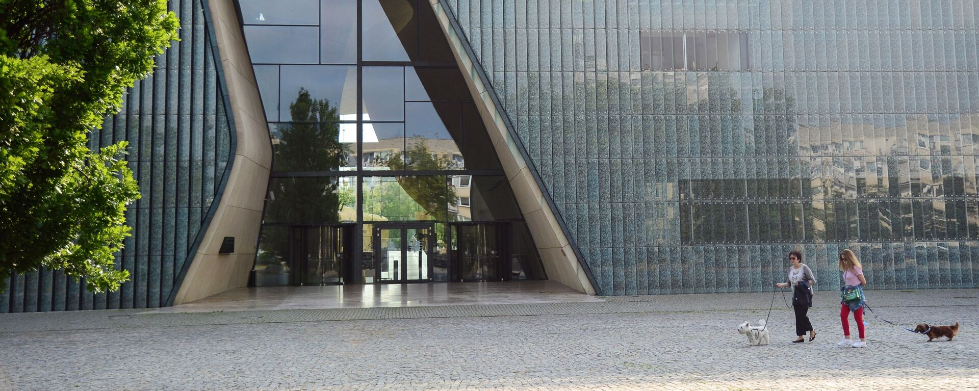 Muzeum Historii Żydów Polskich POLIN w Warszawie - Sputnik Polska, 1920, 01.07.2021
