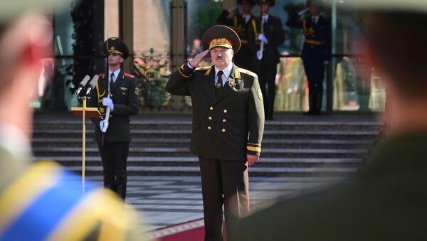 Alaksandr Łukaszenka - Sputnik Polska