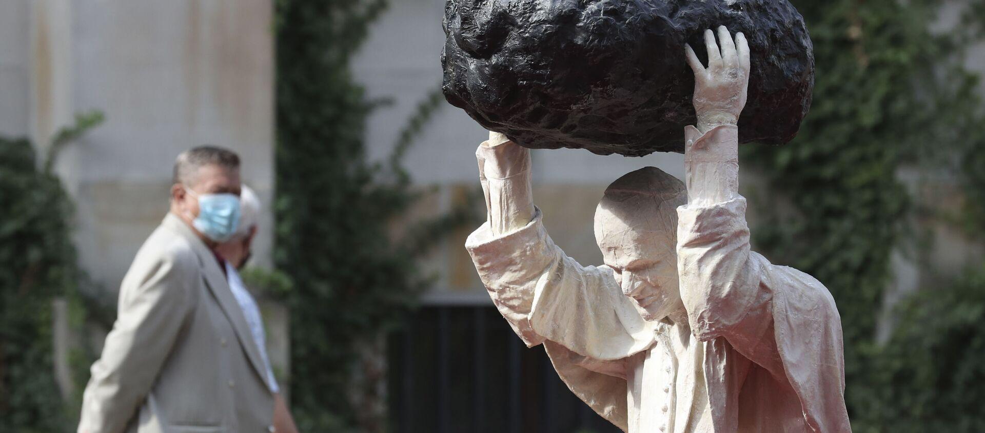 Pomnik Jana Pawła II w Warszawie - Sputnik Polska, 1920, 12.01.2021