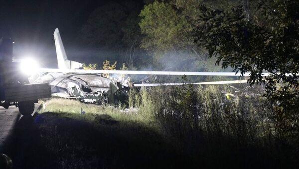 Katastrofa samolotu pod Charkowem - Sputnik Polska